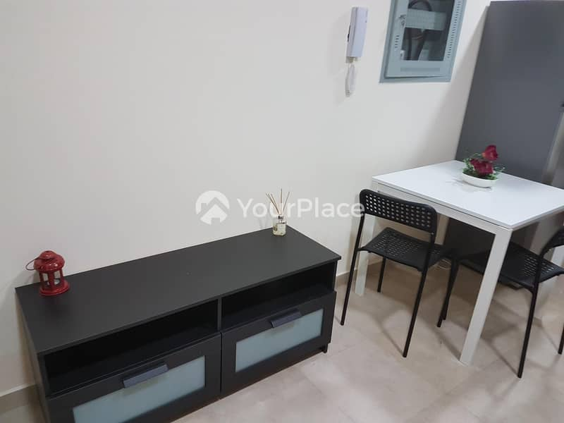 2 Near metro Furnished Mini  by 12 cheques