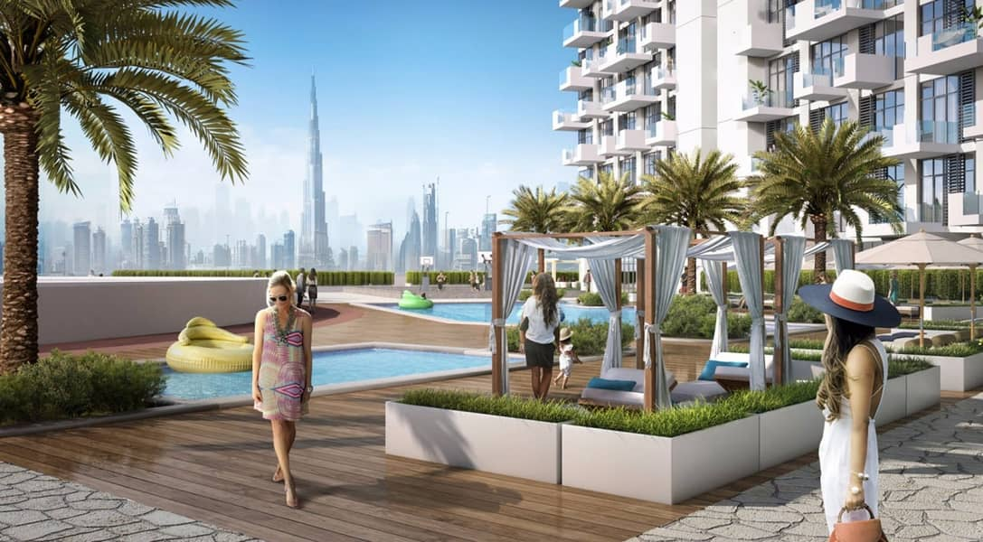 2 Alluring Affordable Studio Apartment for sale in Dubai Healthcare City | Flexible Payment Plan | Community Views