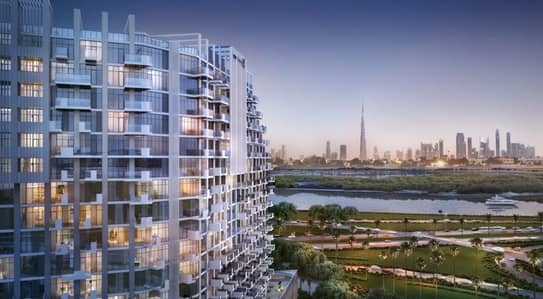 Alluring Affordable Studio Apartment for sale in Dubai Healthcare City | Flexible Payment Plan | Community Views