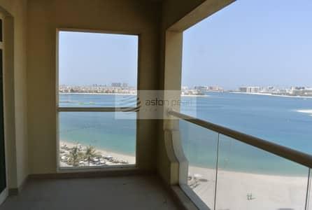 فلیٹ 2 غرفة نوم للبيع في نخلة جميرا، دبي - Tenanted | 2 BR+M | Type D | Al Haseer - Shoreline