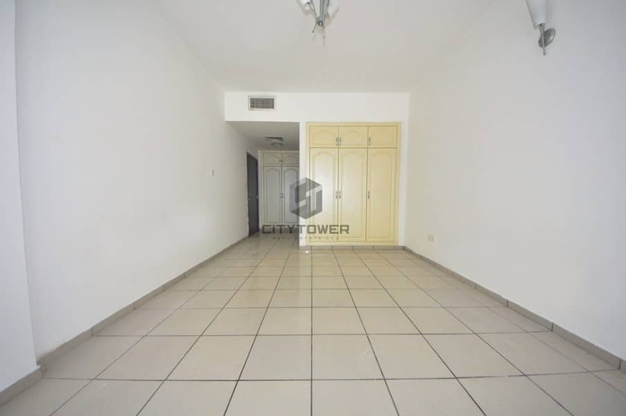 Big Layout Spacious Chiller free Studio with Parking Vacant