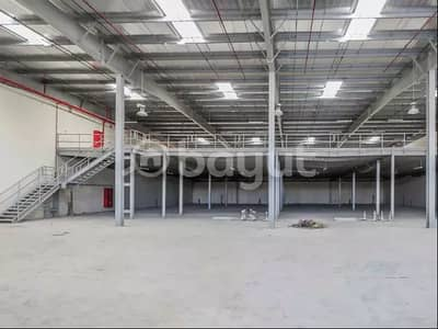 Warehouse for Rent in New Industrial City, Ajman - A new warehouse and a large area 33668 square feet industrial near the Chinese market directly at a fantastic price with 4 months given free due to the Corona crisis