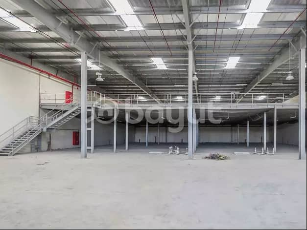 A new warehouse and a large area 33668 square feet industrial near the Chinese market directly at a fantastic price with 4 months given free due to the Corona crisis