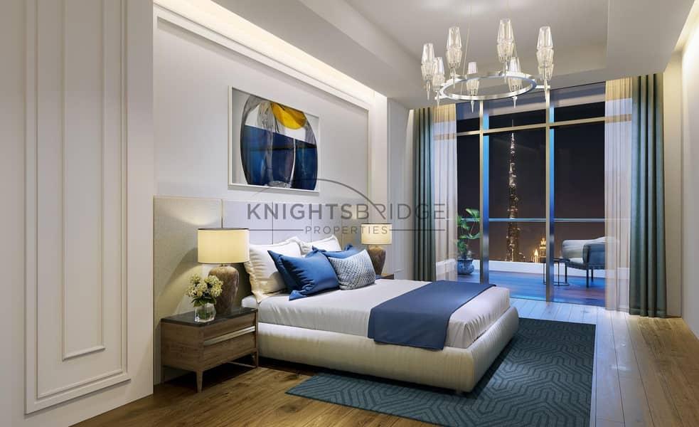 Podium Villa   Burj Khalifa View   80% 3 Years Post Payment