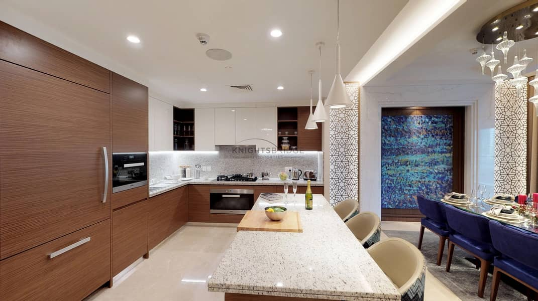 2 Podium Villa   Burj Khalifa View   80% 3 Years Post Payment