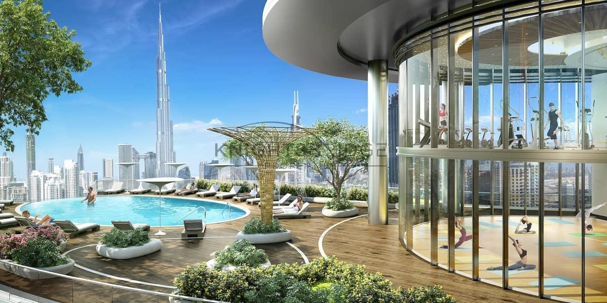 12 Podium Villa   Burj Khalifa View   80% 3 Years Post Payment