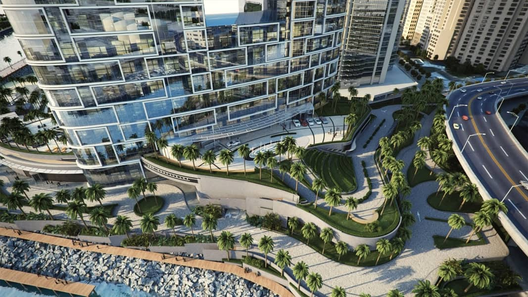 2 Residential Tower 1BR | Marina View | Resale