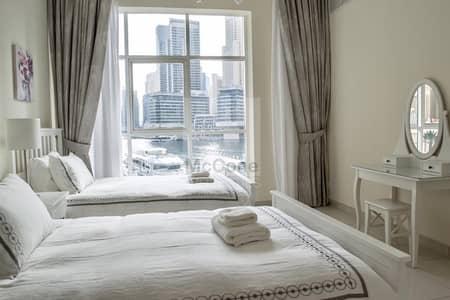 2 Bedroom Apartment for Rent in Dubai Marina, Dubai - Directly on the Marina Living
