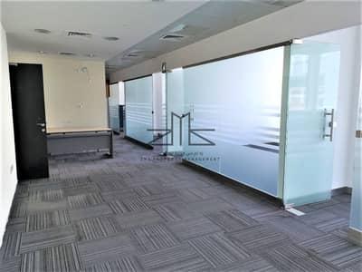 مکتب  للايجار في شارع الشيخ خليفة بن زايد، أبوظبي - reception area