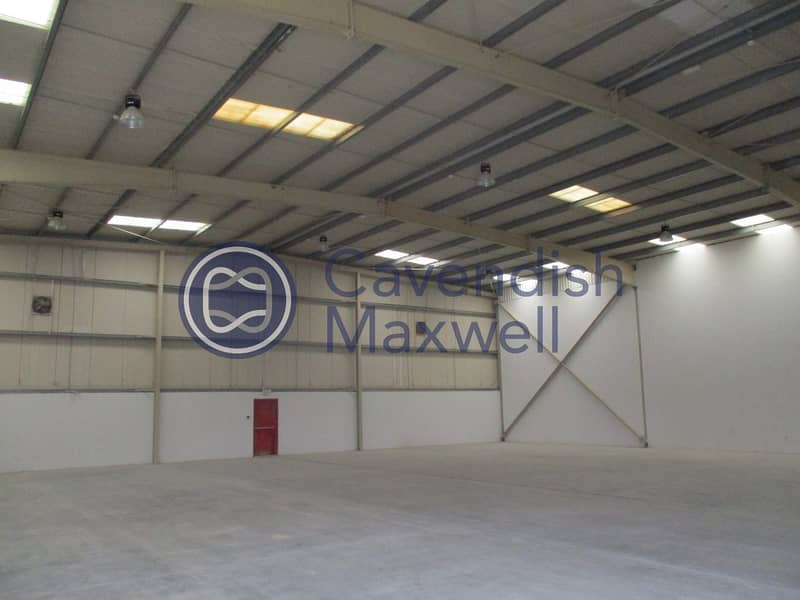 Terraced Warehouse with G+M Office Space