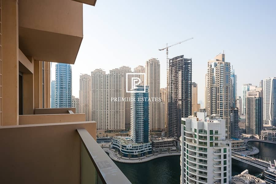 12 Beautiful Fully Furnished 1 Bedroom  Marina View