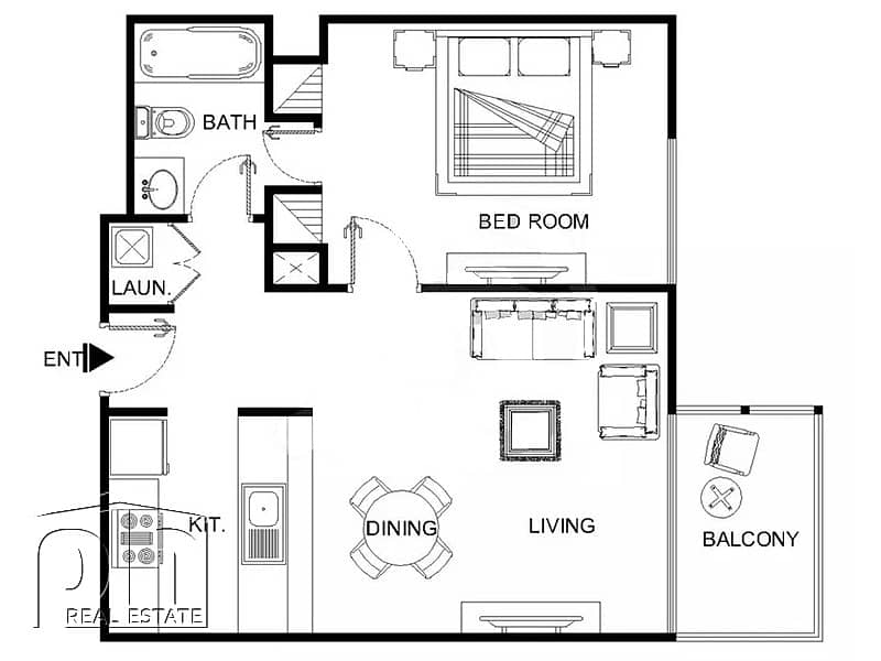 10 One Bedroom | Unfurnished | Available Now