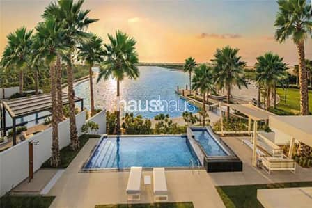3 Bedroom Townhouse for Sale in Tilal Al Ghaf, Dubai - 6 year payment plan - Lagoon Views - Luxury Living