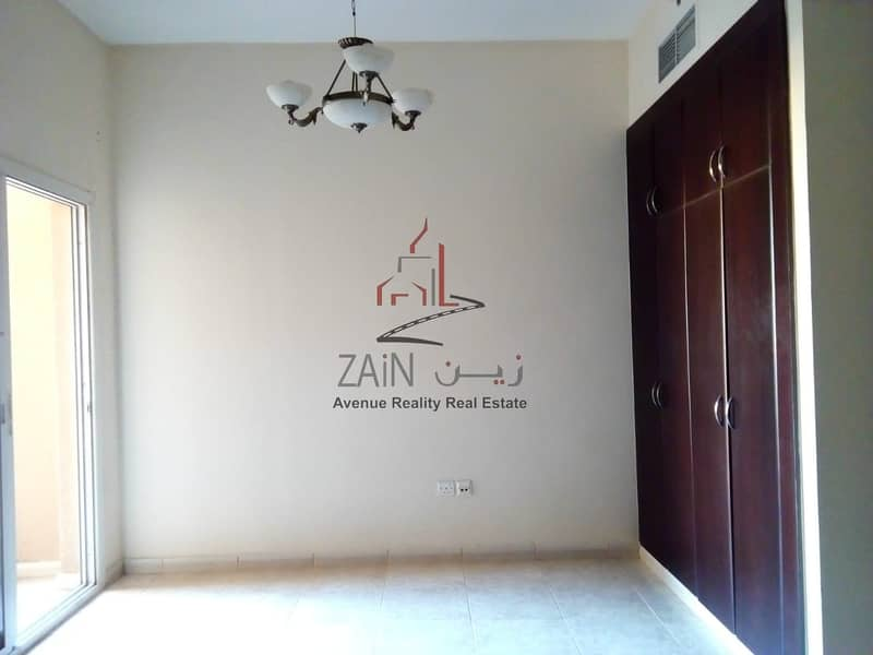 Lovely Bright Studio Apt | For Rent | Equipped Kitchen | Pool View