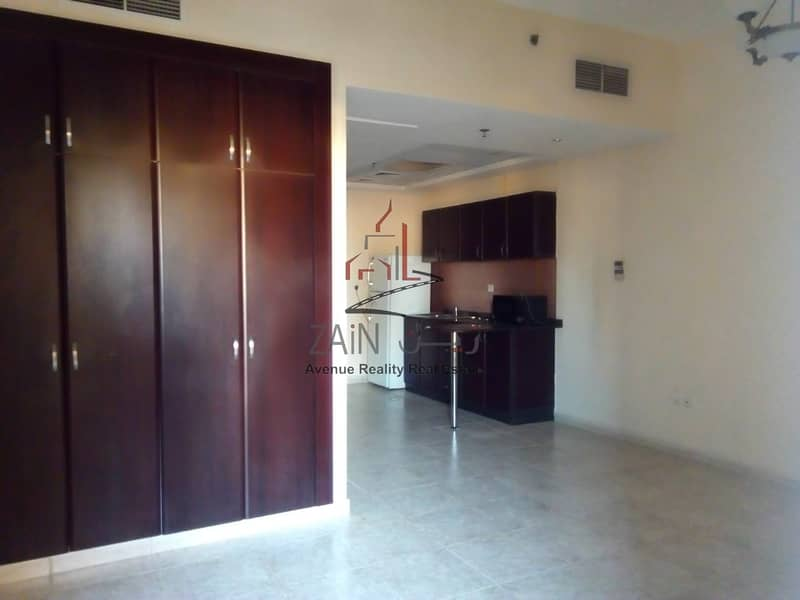 2 Lovely Bright Studio Apt | For Rent | Equipped Kitchen | Pool View