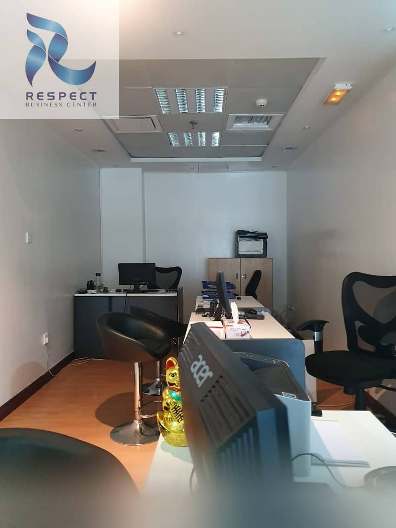 2 NO DEPOSIT |SHARING Office with FREE sponsor EJARI|NO VAT|NO COMMISSION