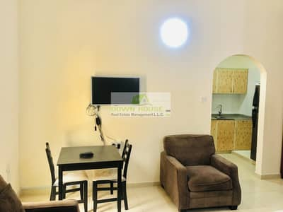 Fully furnished studio f floor in Khalifa city A