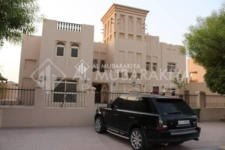 5 Bedroom Villa for Sale in Al Hamra Village, Ras Al Khaimah - 5BR+Maid Room Beach Front Villa Al Hamra
