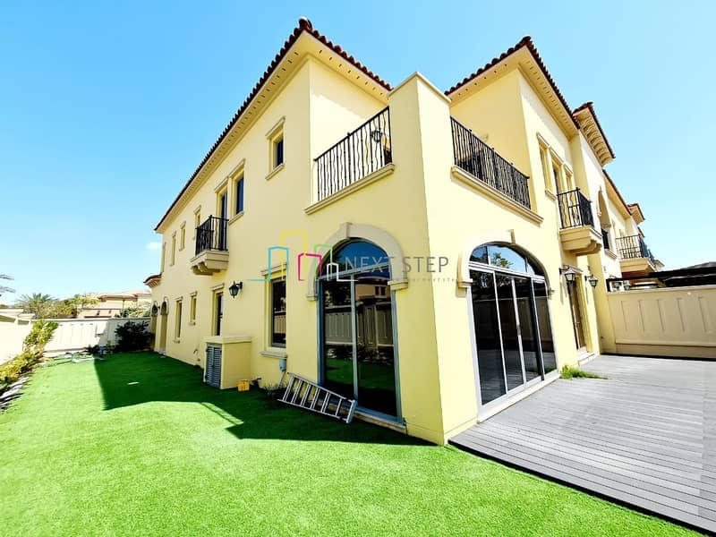 Mediterranean Style  3 BR Townhouse with Maid's room