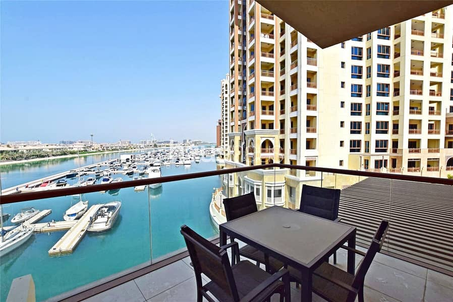 1 Stunning Sea Views | Fully Furnished | Gym Access