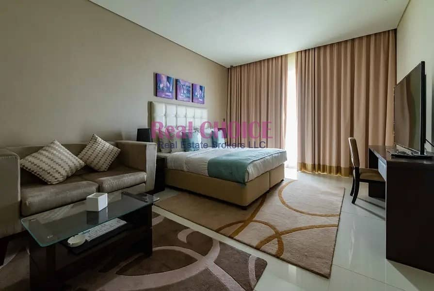 1 Best Price|Fully Furnished Studio Apartment