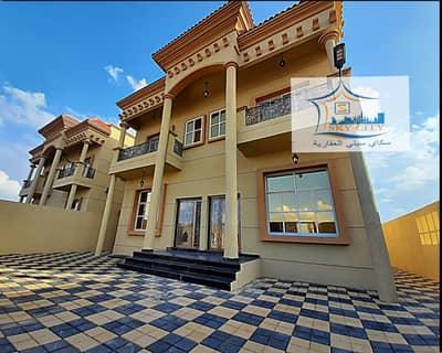 فیلا 5 غرف نوم للبيع في المويهات، عجمان - فيلا  تصميم راقي جدا استغلال امثل للمساحه للبيع بدون عموله