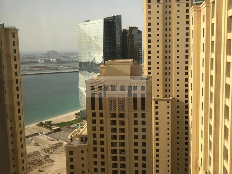 10 Furnished 2BR | High Floor | Marina and Sea View
