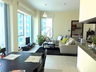 شقة 1 غرفة نوم للايجار في دبي مارينا، دبي - Unfurnished