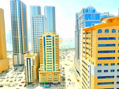 2 Bedroom Flat for Rent in Al Majaz, Sharjah - Free Parking + No Deposit | Bright 2BHK in 6 Cheques