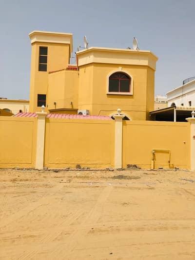 6 Bedroom Villa for Rent in Al Rawda, Ajman - OFFER FOR YOU VILLA FOR RENT WITH 6 BEDROOM MASTER AND 2 KITCHEN 85K YEARLY , IN AJMAN