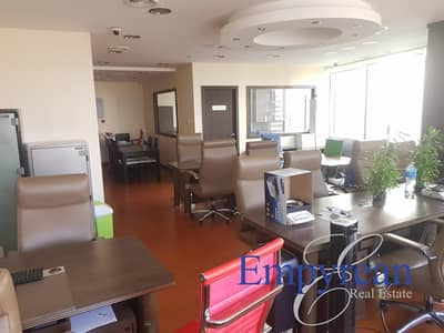 Office for Sale in Jumeirah Lake Towers (JLT), Dubai - FULLY FITTED OFFICE | 25th Floor |  AU GOLD TOWER | DMCC JLT