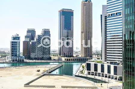فلیٹ 1 غرفة نوم للايجار في الخليج التجاري، دبي - Fully Furnished with White Goods|Canal View.