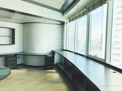 Office for Rent in Jumeirah Lake Towers (JLT), Dubai - Fitted | with Partition | Lake View | Close to Metro