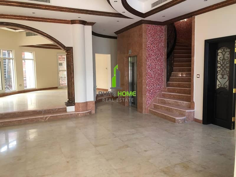 2 VIP  villa  9 Master Bedrooms located in Al Mushrif  Vacant And Ready To Move in
