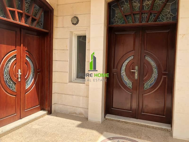 For Rent in Al Mushrif 6 Bedrooms Villa with an Affordable Price