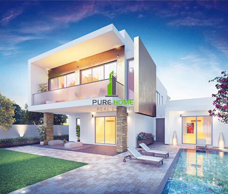 2 Free 3 Years Property Management  for this Amazing 3 Bedrooms Villa in Yas Acres