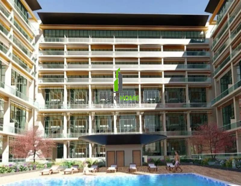 2 Great Offer to Invest Hurry up Now Own this Apartment in Oasis Residences.
