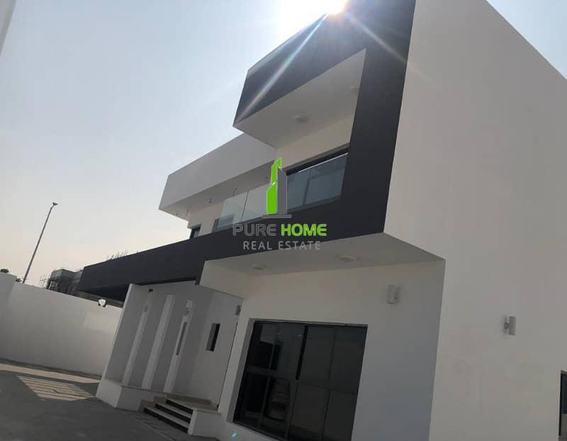 Elegant Brand New Villa   6 Bedrooms Villa In Al Nahyan For Rent.