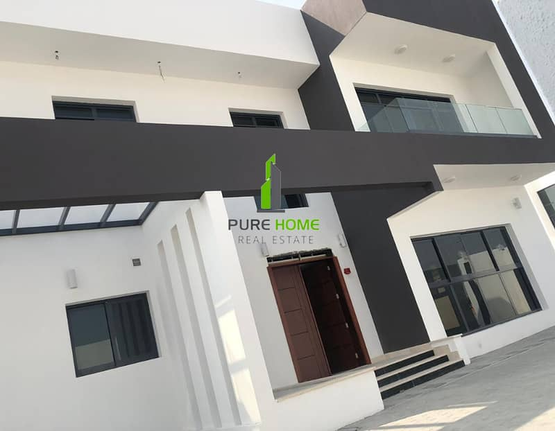 2 Elegant Brand New Villa   6 Bedrooms Villa In Al Nahyan For Rent.