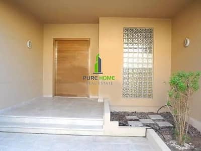4 Bedroom Townhouse for Sale in Al Raha Golf Gardens, Abu Dhabi - Extraordinary Family Townhouse with Lovely Garden in Al Raha Golf Gardens