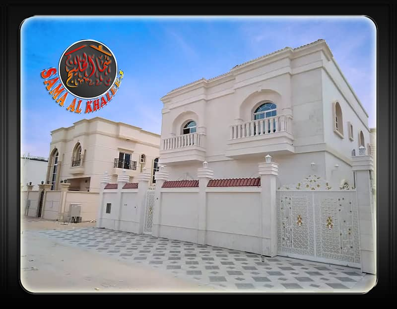 5500 aed monthly and move now for this villa