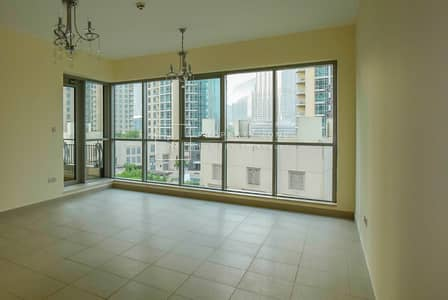 فلیٹ 2 غرفة نوم للبيع في وسط مدينة دبي، دبي - Vacant 2 BR I  Huge Balcony  I Boulevard View