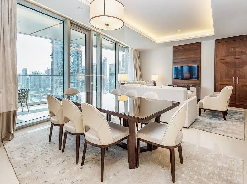 Brand New  3 Bedrooms + Maids I Full Burj & Fountain