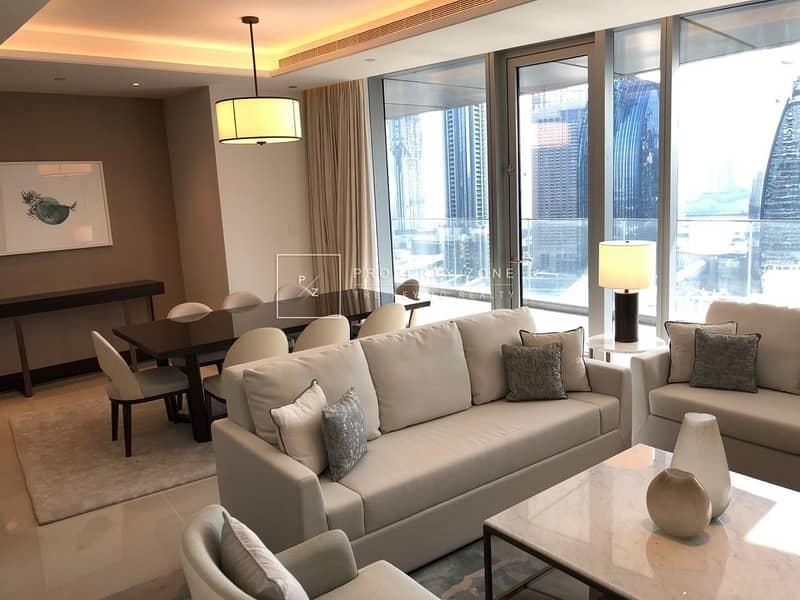 2 Brand New  3 Bedrooms + Maids I Full Burj & Fountain