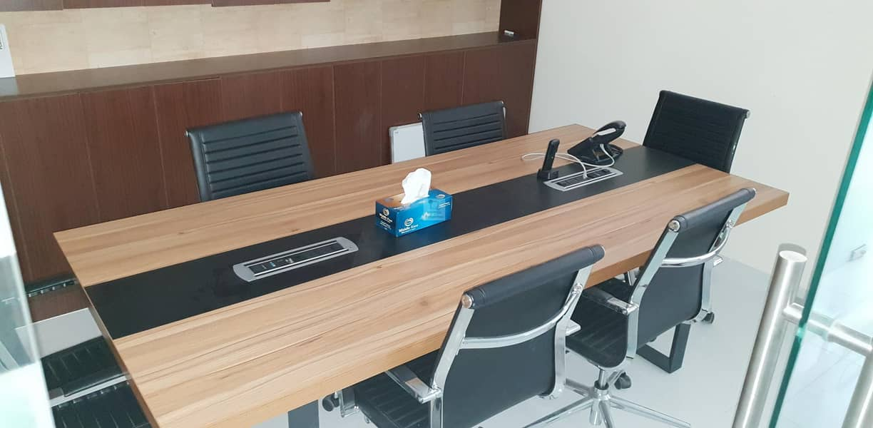 Fully Furnished Office @ 56 AED SQ.FT. | Maintained
