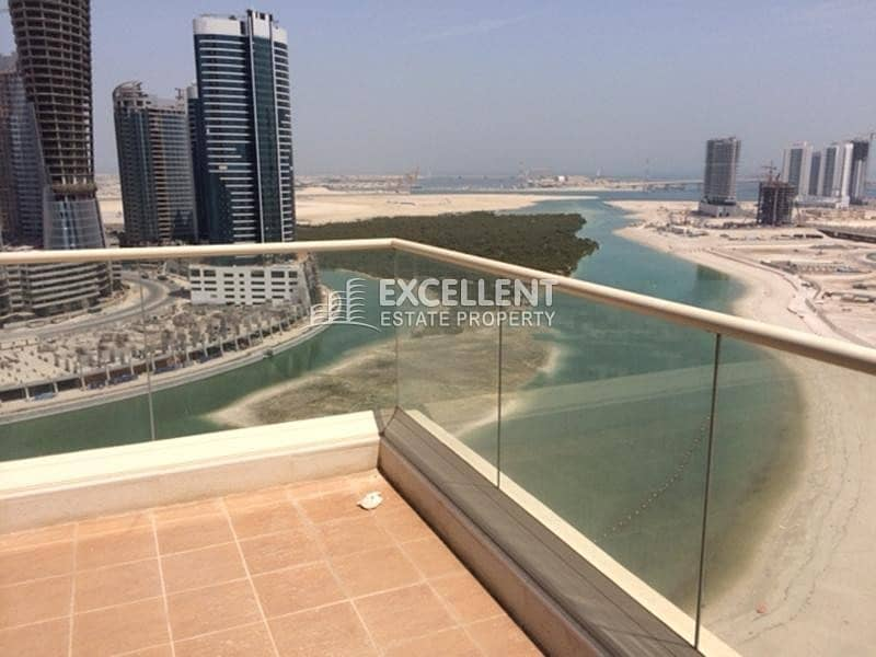 2 Exquisite| Spacious 3BH| Huge Balcony| Sea View