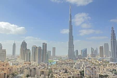 3 Bedroom Flat for Sale in Downtown Dubai, Dubai - 3 Bedroom | Full Burj View | 2