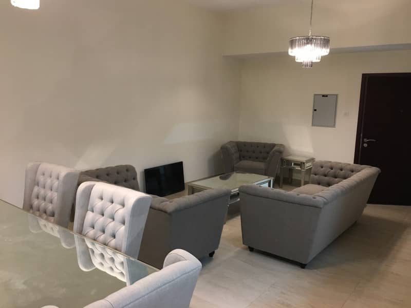 2 Chiller Free Spacious 3 BR Apt with Terrace for Rent in Yasmine Al Furjan