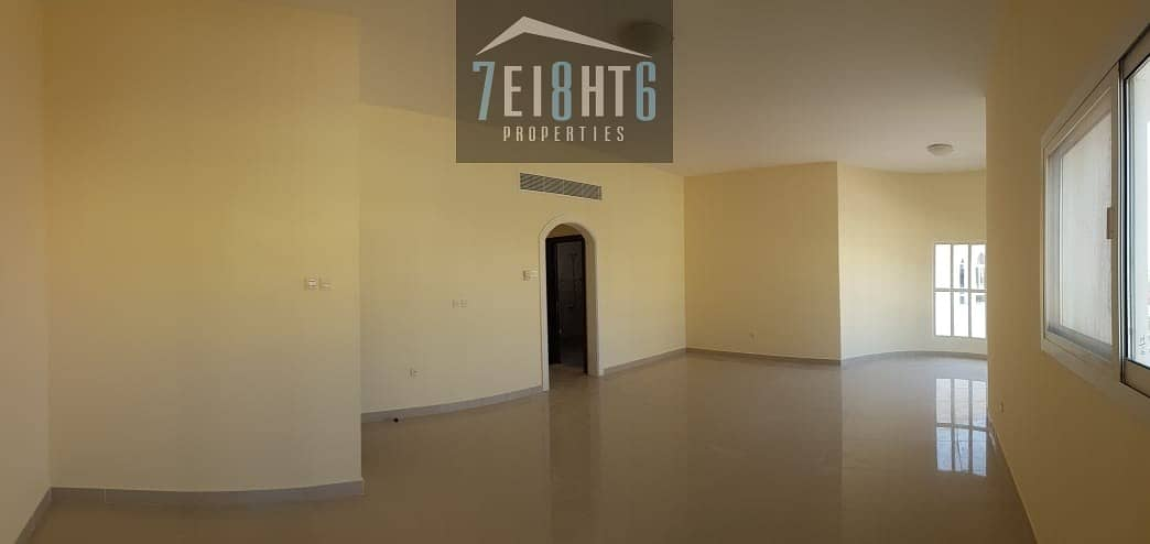 2 Beautifully presented: 5 b/r good quality independent villa + maids room + large garden for rent in Warqaa 3