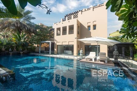 6 Bedroom Villa for Sale in The Lakes, Dubai - Fully Upgraded | Vacant | Private Pool